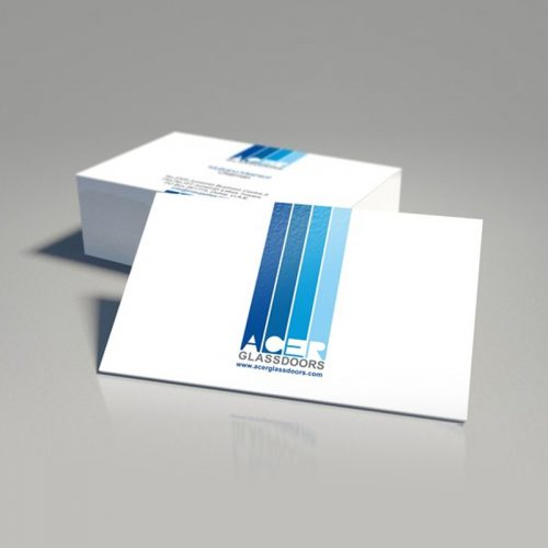 400gsm Premium Silk Business Card